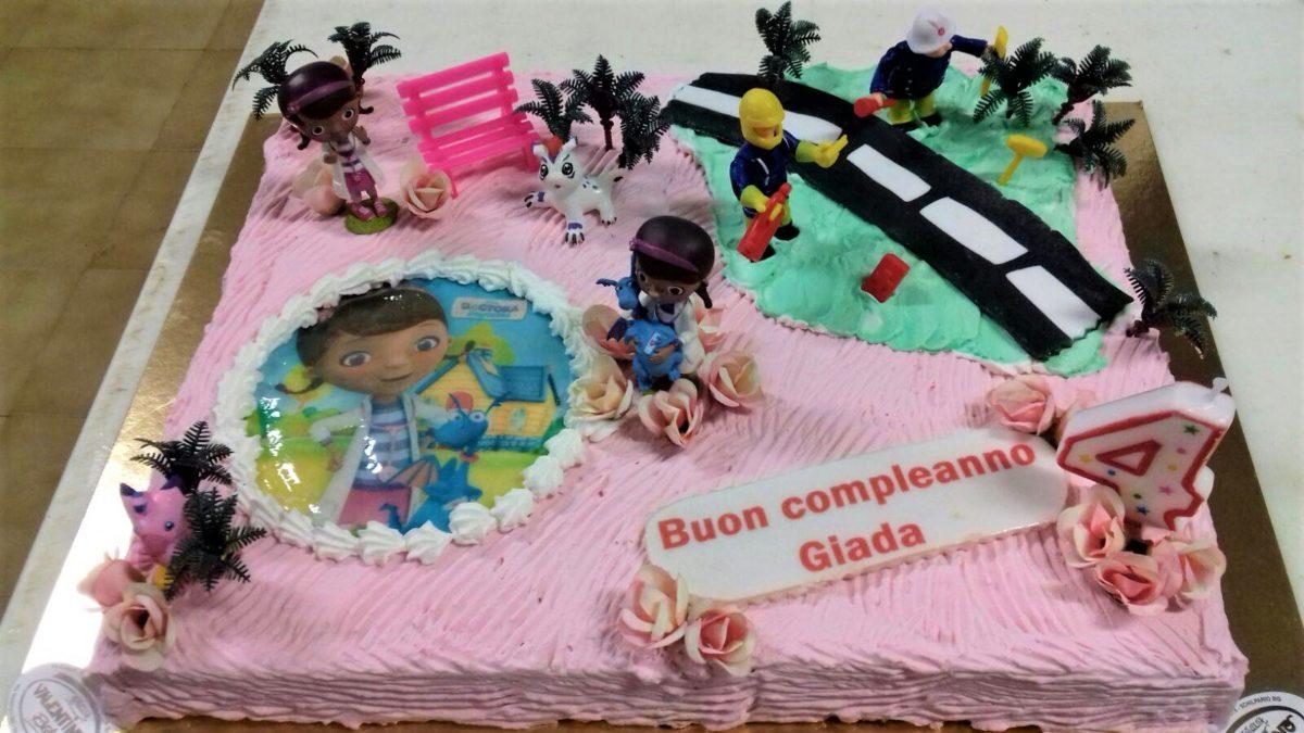 La torta del compleanno