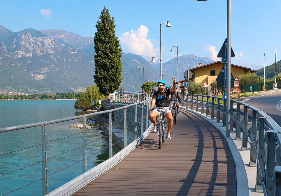 tour e-bike lago e Monte Isola / bike on the lake
