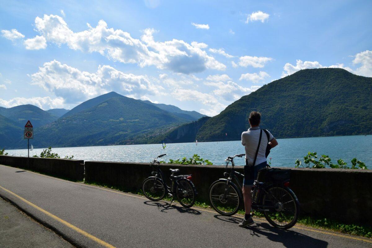 Girolago in Bicicletta con guida