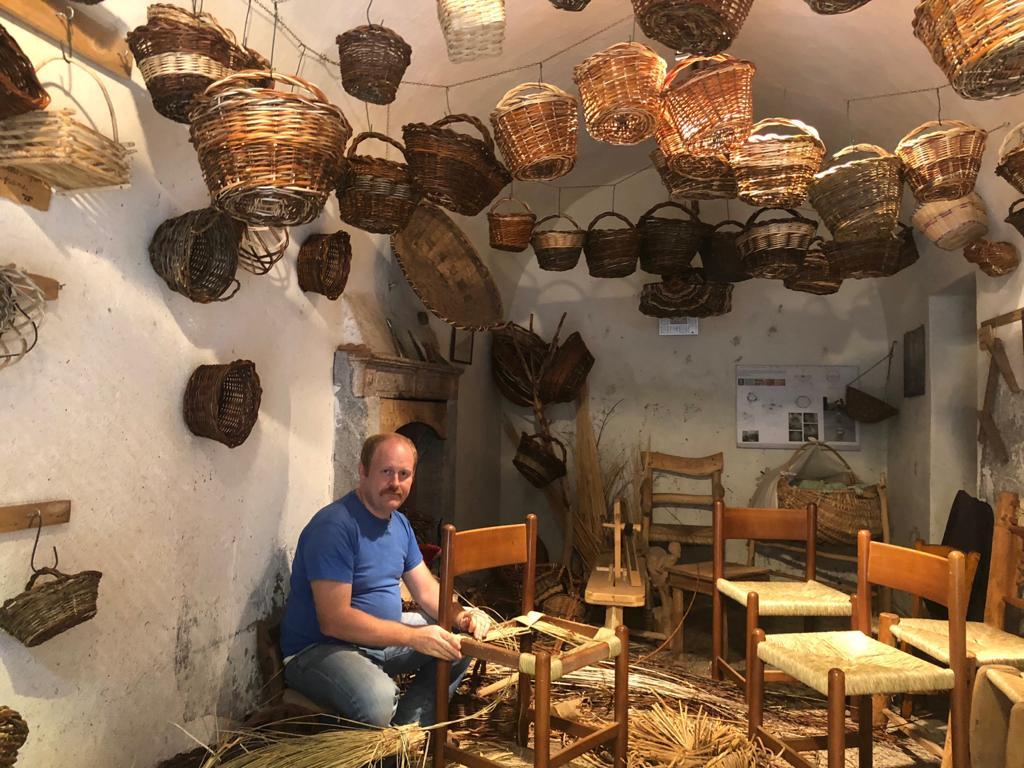 Workshop con l'artigiano: il cestino in vimini