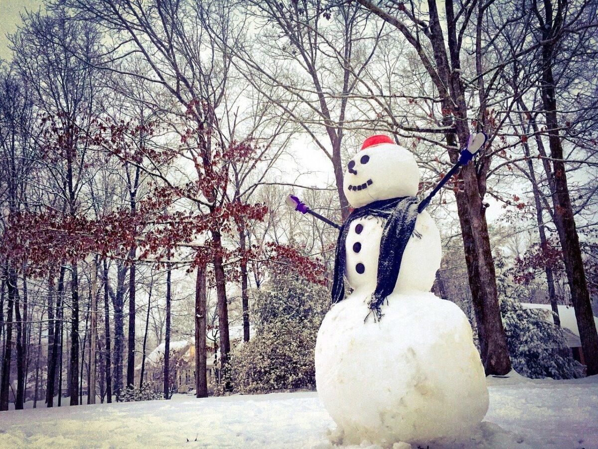 Costruiamo insieme i pupazzi di neve!